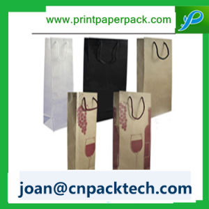 Perspnalized Art Paper for Souvenir with Cotton Rope Handle Bag pictures & photos