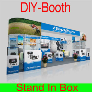 Portable Tradeshow Stand Backdrop with Fabric Printing pictures & photos
