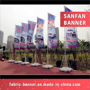 Hot Selling Customized Wholesale Water Base Beach Flag