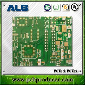 Electrolytic Ni/Au Rigid Double Side Printed Circuit Board