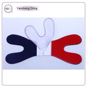 Double Color Horse Shoe Articulating Paper, Red/Blue, 100u, 12pages/Book, 6books/Box