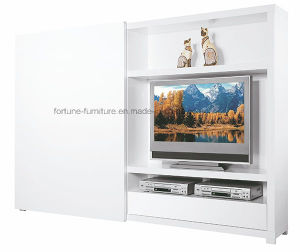 Wooden UV High Gloss Sliding Door TV Cabinet Storage Combination (31019)