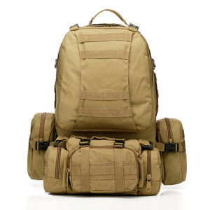 Multi-Misson High Capacity Molle Outdoor Tactical Military Backpack pictures & photos