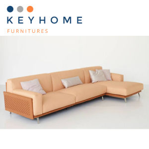 Furniture Low Price Leather Corner Sofa