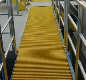 Fibetglass Walkway Pultruded Grating, Pultrusion Grating pictures & photos