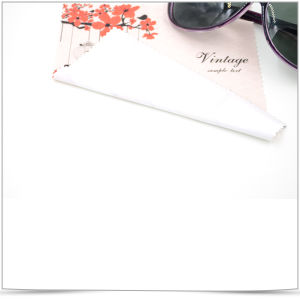 Hot Transfer Printing Superfine Fiber Sunglasses Cleaning Cloth pictures & photos