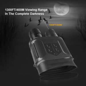 4X50 Digital Night Vision Binoculars 350m Range at Night 5MP with 1.5′′ TFT LCD pictures & photos