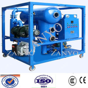 Double Stages Vacuum Transformeroil Processing Equipments