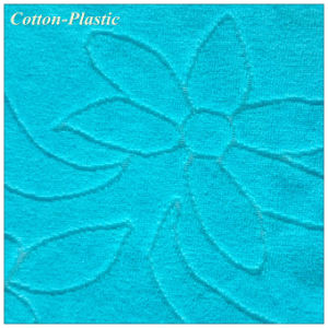 Blue Jacquard Velvet Fabric for Home Textile