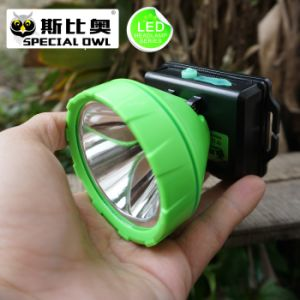 (FL-X814B) 2W 3W 5W LED Headlamp 2PCS Rechargeable Lithium Battery Camping Outdoor Coal Miner Lamp Mining Headlamp Floating Light, Fishing Light pictures & photos