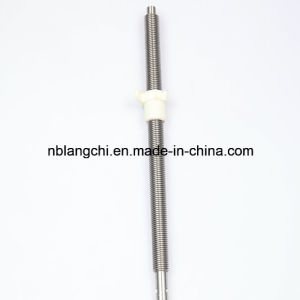 Set Customized Trapezoidal Thread Lead Screw with POM Nut pictures & photos