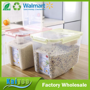 Wholesale Kitchen PP Plastic Cereal Storage Container With Lid