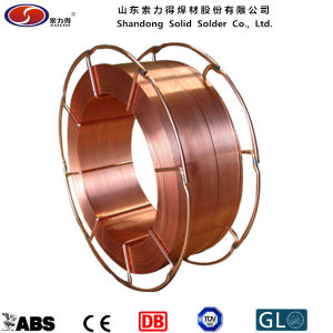 Copper Coated CO2 Wire Er70s-6 Welding Material pictures & photos