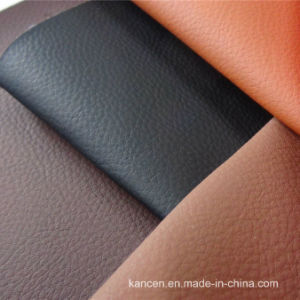 Good Real Leather Feeling Car Seat Leather of CPU (KC-D071)