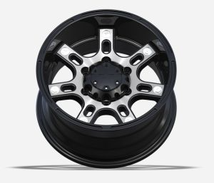 4X4 Alloy Wheels with black machine face UFO-793 pictures & photos