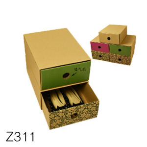 China Z311 Luxury Wedding Dress Storage Drawer Box With Logo Printing China Drawer Style Paper Box And Drawer Gift Box Price