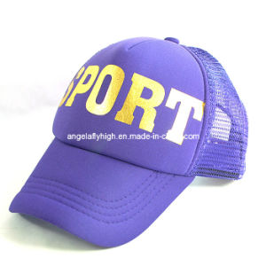 Purple Fashion Cap pictures & photos
