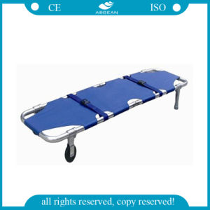 (AG-2B3) Made of Canvas Aluminum Alloy Folding Stretcher pictures & photos
