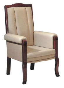 Wooden Frame High Back Leisure Dining Room Chair (YZ-468)