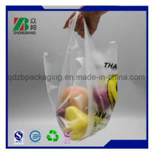 Plastic T-Shirt Vest Shopping Bag with Printing pictures & photos