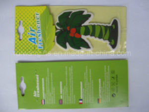Green Coco Tree Paper Air Freshener pictures & photos