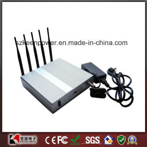 Cell Phone + WiFi Signal Jammer Blocker with Remote Control pictures & photos
