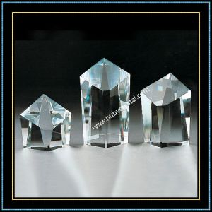 Decorative K9 Blank Crystal Block Slant Top pictures & photos