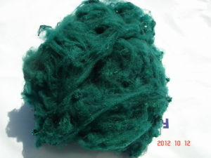 1.5d*38mm Polyester Staple Fiber Green-2