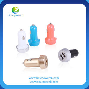 Dual 2 Port USB Car Charger Phone with 5V2.1A for iPhone 6
