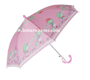 Lovely Pink Kid Umbrella pictures & photos