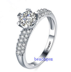 Hot Sell Jewelry- Cubic Zirconia Brass Rings (R0832)