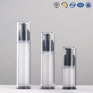15ml 30ml 40ml Clear and Plastic as Clear Cosmetic Airless Pump Spray Bottles