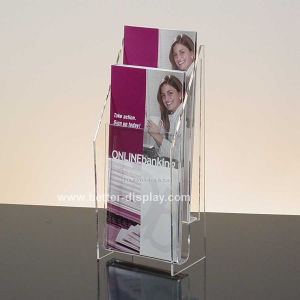 Acrylic Table Stand for Magazine Holder (BTR-H6032) pictures & photos