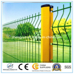 2017 High Quality PVC Coated Welded Garden Fence Panel