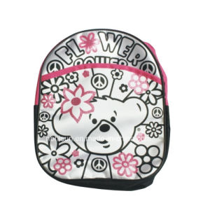 Doodle Canvas Backpack School Bag Color Your Own Bag with Markers (SF-2022)