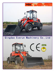 Everun CE Approved Farm Machine 1.6ton Small Shovel Loader pictures & photos