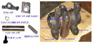 Spare Parts of Single Diesel Engine-Rocker Arm Assembly