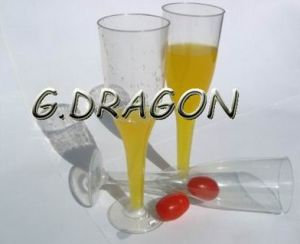 Party Tableware Disposable Plastic Goblet Cup for Party (GD-G3)