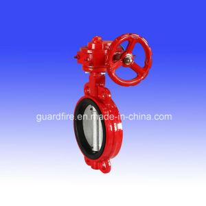 Turbine Butterfly Valve for Wafer Type Butterfly Valve