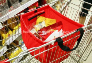 Large Capacity Folding Supermarket Trolley Shopping Bag