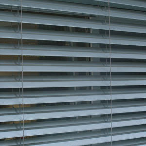 Electrical Aluminum Exterior Venetian Blinds