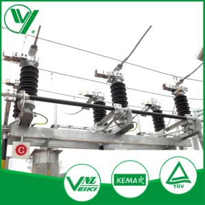 Outdoor 3 Phase Isolating Switch of High Voltage pictures & photos