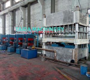 Rubber Floor Tile Brick Curing Vulcanizing Press Machine Vulcanizer pictures & photos
