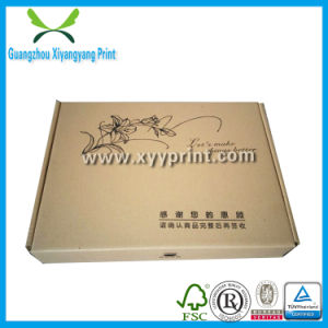 Cheap Custom Kraft Paper Packaging Corrugated Box for Mailing pictures & photos