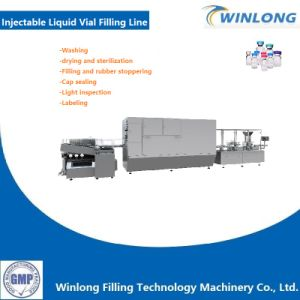 Injectable Liquid Washing-Drying&Sterilization-Filling&Rubber Stoppering-Sealing Line pictures & photos