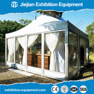 Aluminium Pagoda Tent Event Outdoor with Glass Sidewalls for Sale pictures & photos