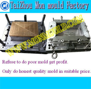 718h Steel Mechanical Sliders Injection Plastic Mould for Crate