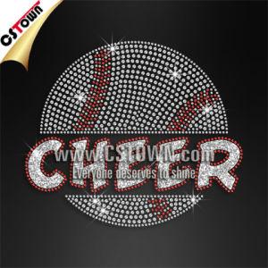 China Wholesale Cheer Baseball Logo Design Iron on