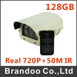 Road CCTV Camera, Waterproof and 50m Night Vision, 128GB SD Recording