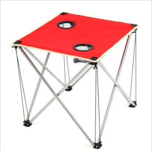 Foldable Portable Table Roll Up Oxford Fabric Picnic Outdoor Camping Ultralight
